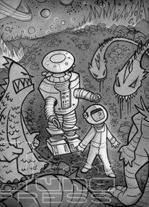 Alien Poster - Dave Lonteen